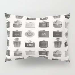 Flask Collection – Black Palette Pillow Sham