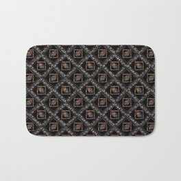 Abstract geometric pattern. Bath Mat