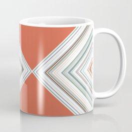 orange diamond design Coffee Mug