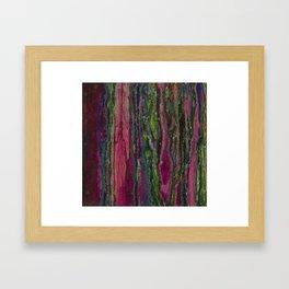 Spellbinding Impasse (Bioluminescent Field) Framed Art Print