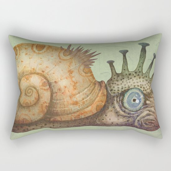 Peculiar Marine Species Rectangular Pillow
