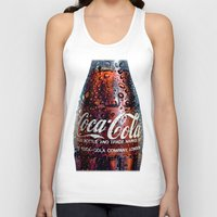 coca cola Tank Tops featuring The Real... by LesImagesdeJon