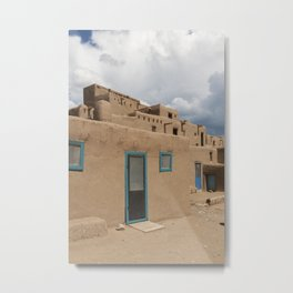 Toas Pueblo Metal Print