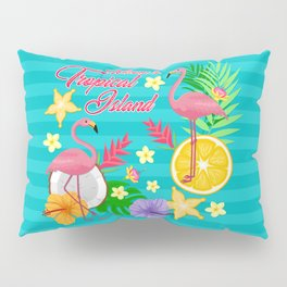 Welcome to topical Island Pillow Sham