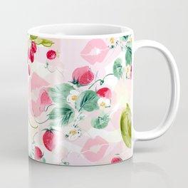 strawberries w kisses Coffee Mug