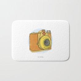 So Analog - Agfa Clack Retro Vintage Camera Bath Mat