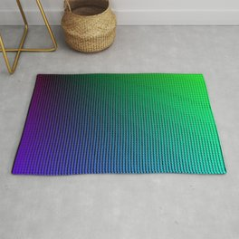 Prismatic Triangle Rays Rug