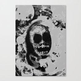 Fadin' grey Canvas Print