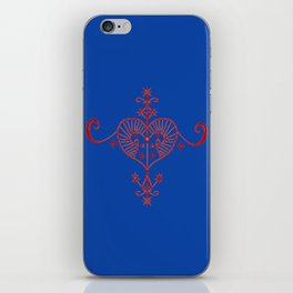 Voodoo Symbol Erzulie iPhone Skin