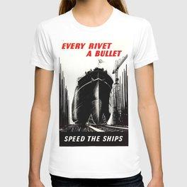 Every Rivet A Bullet T-shirt