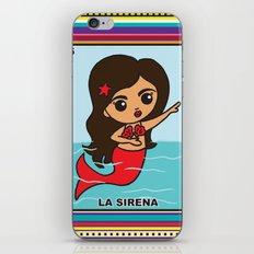 La Sirena iPhone & iPod Skin