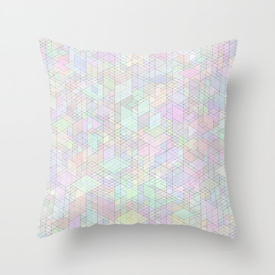 Panelscape - #9 society6 custom generation Throw Pillow