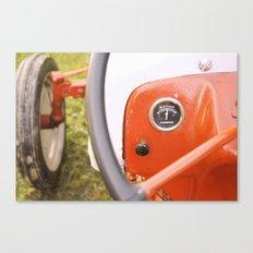 Caitlins Grandpas Tractor Canvas Print