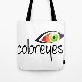 color eyes Tote Bag