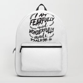 Psalm 139:14 Backpack