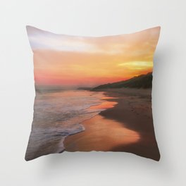 A Summers morning Throw Pillow