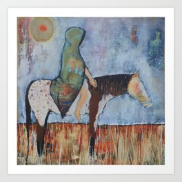 """""""A Horse With no Name"""" Art Print"""