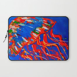 Red Jellyfish Laptop Sleeve