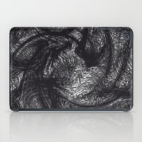 furry iPad Cases featuring furry swirl by Matthias Hennig