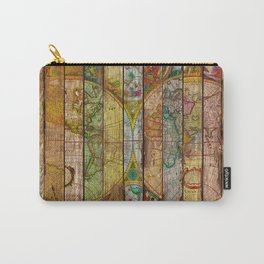 Around the World in Thirteen Maps Carry-All Pouch