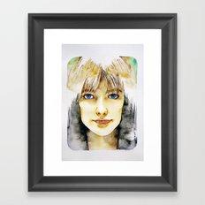 Francoise Hardy Framed Art Print