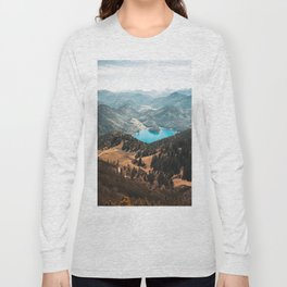Mountains and lake Long Sleeve T-shirt