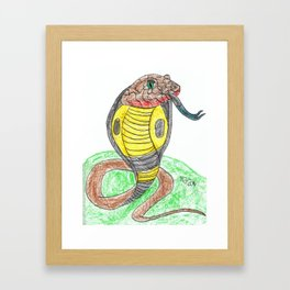 Egyptian Cobra Framed Art Print
