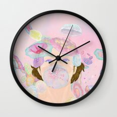 Jellyfishes Wall Clock