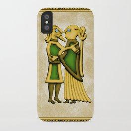 Frey & Gerd iPhone Case