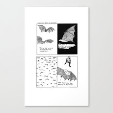 Bats In Your Hair Canvas Print