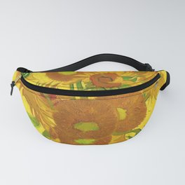 Vincent Van Gogh Fifteen Sunflowers In A Vase Fanny Pack