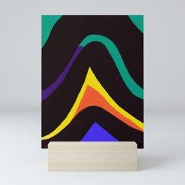 Stripes & Colors Mini Art Print