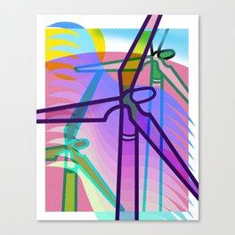 The Wind Mills Canvas Print