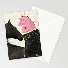 goodbye horses Stationery Cards