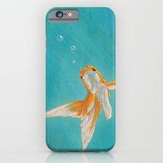 Goldfish in the ocean iPhone 6s Slim Case