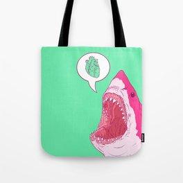 Shark Love Tote Bag