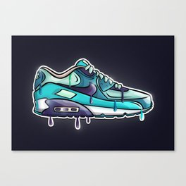 Nike air drop Canvas Print
