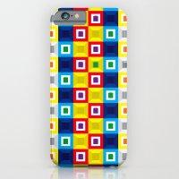 Squares Pattern Slim Case iPhone 6s