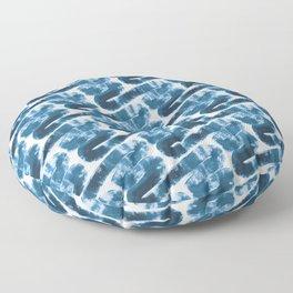Paint Waves III Floor Pillow