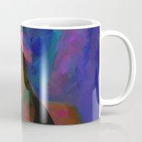 amy hamilton Mugs featuring Amy by Darla Designs
