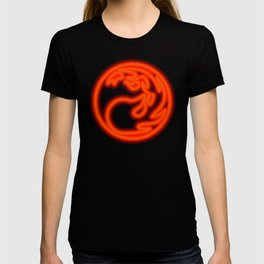 Magic the Gathering, Neon Red Mana T-shirt