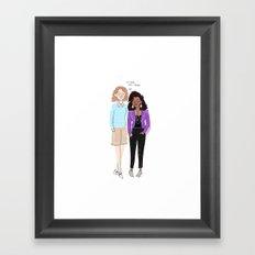 San Junipero Framed Art Print