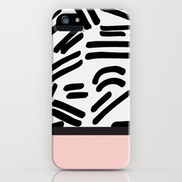 Patterned & Pink iPhone Case