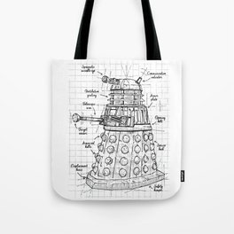 Extermination project Tote Bag