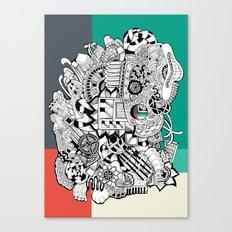 Orden inverso Canvas Print