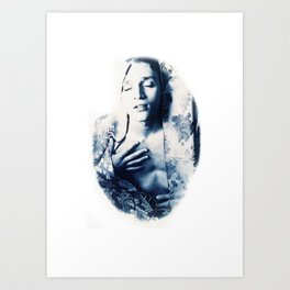 Arouse in your own pleasure Art Print