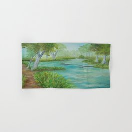 Little Manistee River MM120824a Hand & Bath Towel
