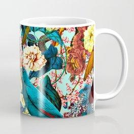 FLORAL AND BIRDS XV Coffee Mug