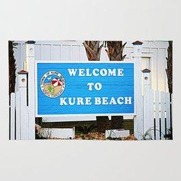Small Town Beach Rug