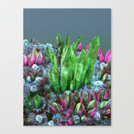 Classy Minerals Canvas Print